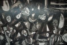 Una serie compuesta por lienzos, grabados y serigrafías del artista vallecaucano, Eduardo Esparza.
