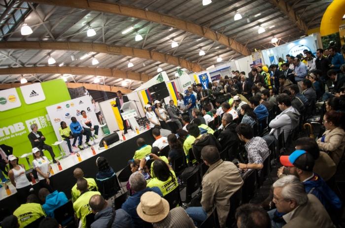 Lanzamiento de la Media Maratón de Bogotá.