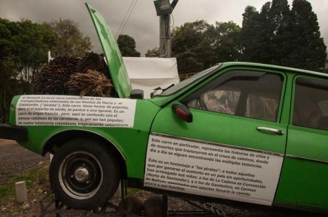 Y aquel famoso Renault 12 que utilizaban de manera cotidiana para llevar y traer el sustento a sus familias dejará de vislumbrarse en el verde paisaje de esta rica zona colombiana
