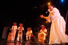 La Fundación Gilberto Álzate Avendaño donde decenas de músicos llevaron un mensaje de reconciliación a través de la buena rumba