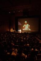 Con una masiva participación inició en el teatro Jorge Eliecer Gaitán la Cumbre Mundial de Arte, Cultura y Paz que se celebró por primera vez en Colombia.