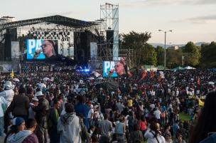También conciertos, algunos a gran escala cómo el del Parque Simón Bolívar que cerró con gran alegría y que contó con la participación de nuestros grandes Petrona Martínez y Jorge Veloza, este último acompañado de más de 450 niños de los Centros Locales de Arte para la niñez y la Juventud.