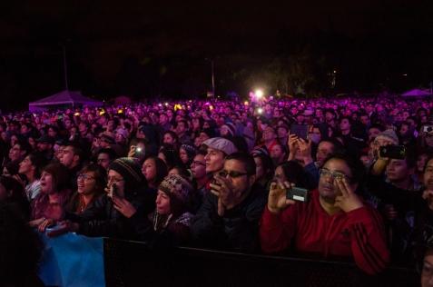 Con un número masivo de asistentes finalizó la XIV edición del festival Colombia al Parque que se celebró del pasado 6 y 7 de junio del 2015 en el Parque los Novios en Bogotá.