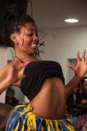 Con bailes típicos de la región pacífica colombiana, los más jóvenes alentaron a los asistentes a que conocieran la tradición de esta zona, que ha sido relegada a segundo plano durante años por el Gobierno Nacional.