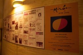 Las obras están expuestas en el Centro Cultural Gabriel García Márquez, en la calle 11 No 5-60, en el centro de la capital de Colombia.