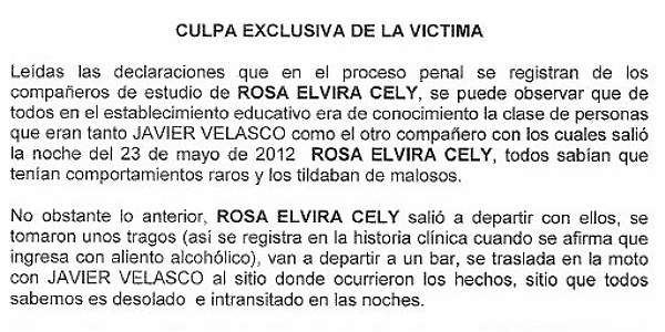 Apartes de la respuesta oficial de la Secretaría de Gobierno de Bogotá antes de ser retractada por el Distrito. Foto: Archivo Particular.
