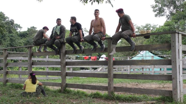 1.En las espesas selvas del Putumayo, el bloque sur de las Fuerzas Armadas Revolucionarias de Colombia - Ejército del Pueblo –FARC-EP- han empezado el camino de la desmovilización.